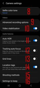 Ultimate Guide for Galaxy S21 Camera Settings - Samsung Galaxy S21 Guides