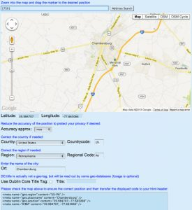 Geotagging Your Website for Improved Localization