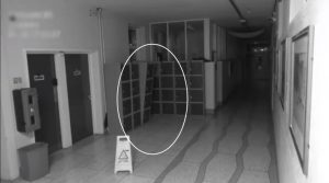 VIDEO: Is that a GHOST? School's CCTV camera captures eerie movement in the  hallway | Trending News,The Indian Express