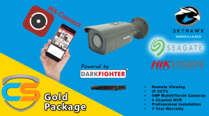 Gold CCTV System from Clitheroe Security - Clitheroe Security