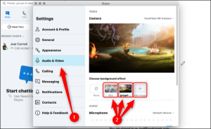 How to change your skype video call background ~ How to