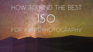 How to Find the Best ISO for Astrophotography: Dynamic Range and Noise –  Lonely Speck