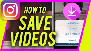 How to save videos from Instagram - Web Servings