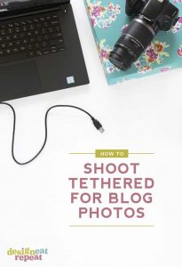 How to Tether Your Camera to Your Computer!