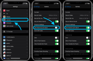 How to use burst mode with iPhone volume button in iOS 14 - 9to5Mac