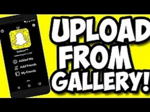 How To Upload Videos to Snapchat Story from Camera Roll [ MYTECHSUPPORT] -  YouTube