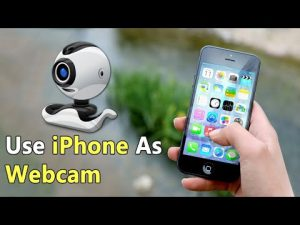 How To Use iPhone As Webcam For Your PC - YouTube