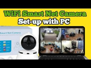 How to Connect WiFi Smart-Net CCTV Camera to PC or Laptop? - YouTube