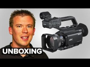 Sony HXR-NX80 Unboxing & Setup | Professional 4K Video Camera / Camcorder -  Switched On Network