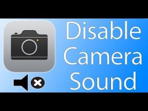 How to Turn Off Camera Sound in iPhone - YouTube