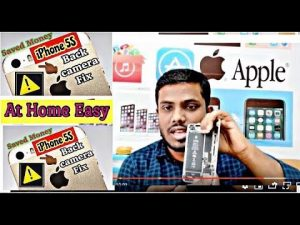iPhone 5s back camera not working | Solution - YouTube