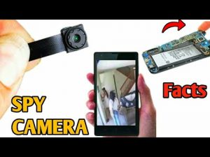 Make SPY CAMERA from old phone | scientific ideas 2020 - YouTube