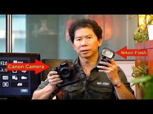 Cool Trick! How To Use Nikon flashes on Canon cameras - YouTube