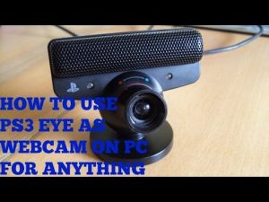 How To Use PS3 Eye As Webcam On PC (Skype,Facebook,recording etc.) - YouTube