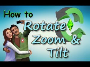 Sims 3: Rotate, Zoom, and Tilt Tutorial - YouTube