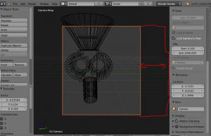 How to scale the cameras view bounds? - Blender Stack Exchange