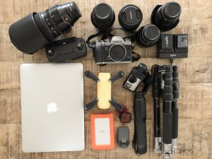 Travel photography gear: what's in our camera bag while traveling?