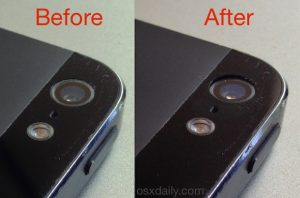 iPhone 5 Camera Not Working? A Light Press May Fix It | OSXDaily