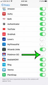 How to Turn Off Camera Permissions for Pokemon Go on an iPhone - Support  Your Tech