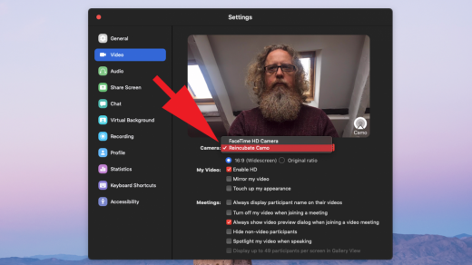 How To Use An IPhone As A Webcam For Mac  