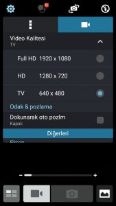 How can I open android video camera only HD mode? - Stack Overflow