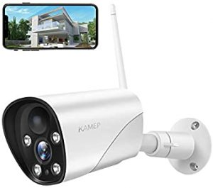 KAMEP Outdoor Security Camera 1080P Weatherproof 2 - Very clear picture and  easy to set up.