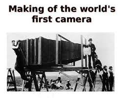 FIRST CAMERA INVENTION – Site Title