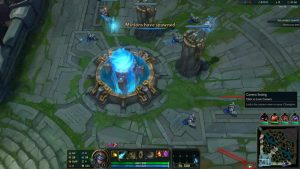 How to unlock the camera in League of Legends?