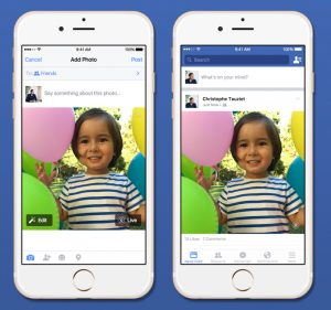 Facebook Starts Rolling Out Support For Apple's Live Photos | TechCrunch