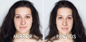 Why am I Ugly on the back facing camera? Yet on the front facing camera I'm  slightly decent looking? - Quora