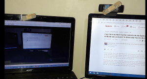 How to access the camera on my laptop when someone else is using it,  without them knowing - Quora