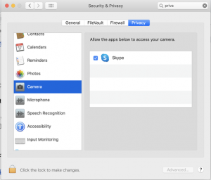Where are the camera settings on a Mac? - Quora