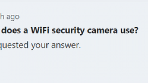How much data does a WiFi security camera use? - Quora