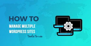 How to Manage Multiple WordPress Websites (5 Tools to Do It Easily)