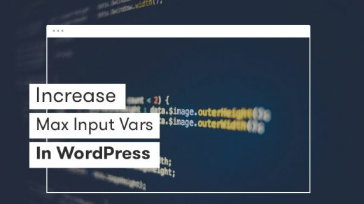 How to Increase PHP Max Input Vars Limit? (3 Methods) - BetterStudio