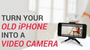 Turn Your Old iPhone or iPad Into a Security Camera - YouTube