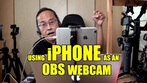 Using the iPhone as a Webcam for OBS Live Streaming 2020 - VIDEOLANE.COM ⏩