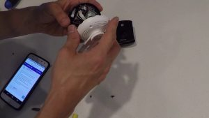 Disable or turn off IR night vision on Zmodo camera - YouTube
