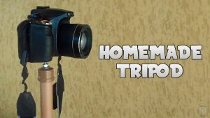 How to make a camera support (Tripod) - YouTube