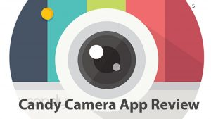 Candy Camera App Review - YouTube