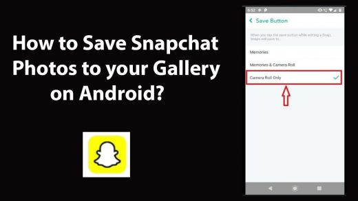 How to Save Snapchat Photos to your Gallery on Android? - YouTube
