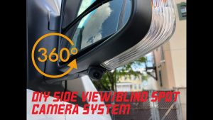 DIY side view blind spot camera system in a Mercedes Sprinter - YouTube
