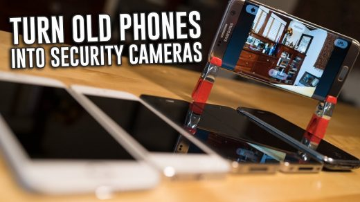 How To Turn Your Phones Into WiFi Security Cameras - YouTube