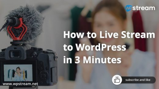 How to Live Stream to WordPress with OBS - YouTube
