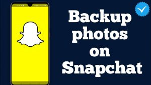 How To Backup Your Camera Roll On Snapchat   How do I back up my photos on  Snapchat? - YouTube