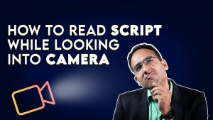 How to read script while looking into camera | Simple Manual teleprompter|  Jitesh Manwani - YouTube