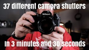 Video: 37 different camera shutter sounds in 3 minutes: Digital Photography  Review