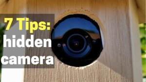 How to Hide a Security Camera (Indoors or Outside) - YouTube
