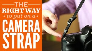 How To Put On A Camera Strap The Right Way - YouTube