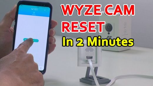 How To Reset the WyzeCam (Quick Video) - YouTube